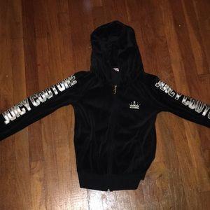 Black Juicy Couture zip up